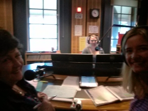 On air with Jenny Marchant
