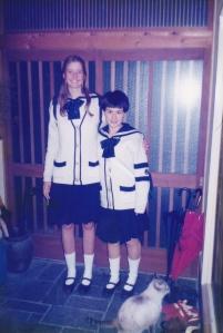Jessie and Kaya Japan 1997