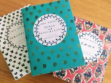 Jane Austen covers